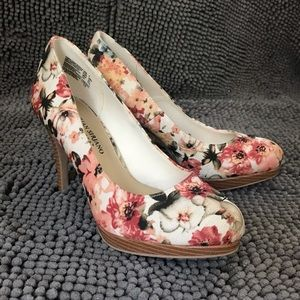Christian Siriano for Payless Floral Heels
